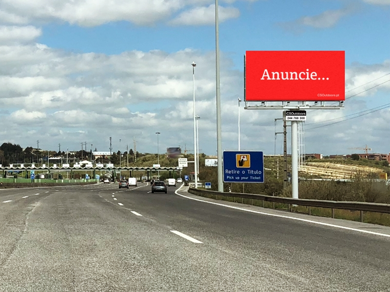 MONO099 – A1 Lisboa – Vialonga, junto às Portagens de Alverca
