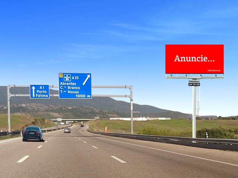 Novo Reforço na A1 junto ao Acesso com A23