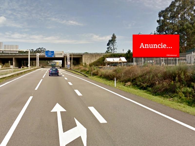 A CSOutdoors apresenta empena na A25 - Albergaria
