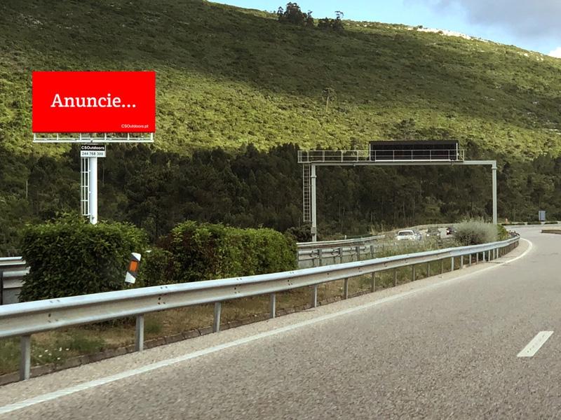 A CSOutdoors apresenta um novo outdoor na A1 Fátima, Minde