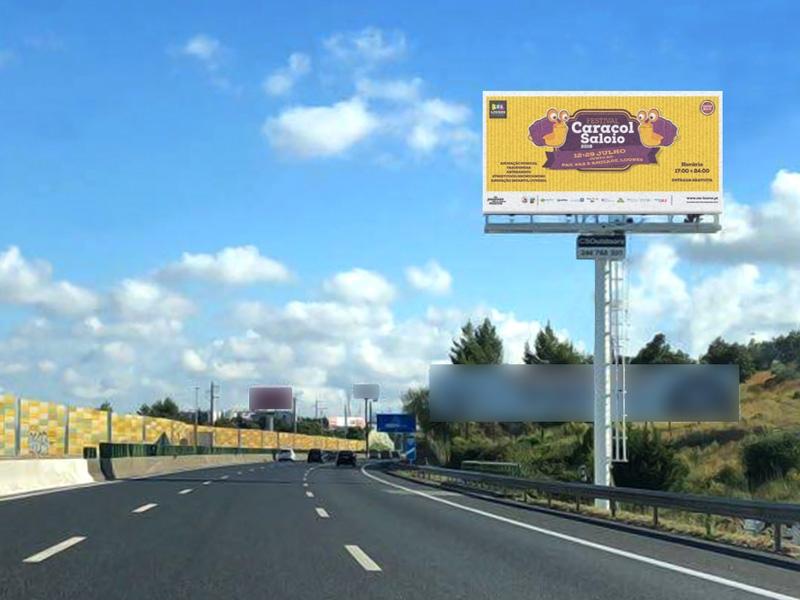 A CSOutdoors apresenta um novo outdoor na A1 à entrada de Lisboa -  Alverca