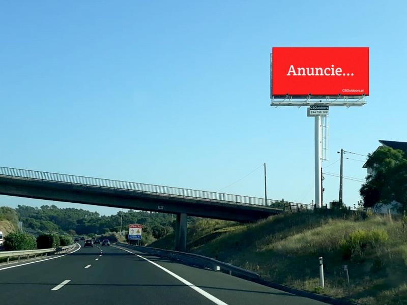 A CSOutdoors apresenta um novo outdoor na A1 em Leiria